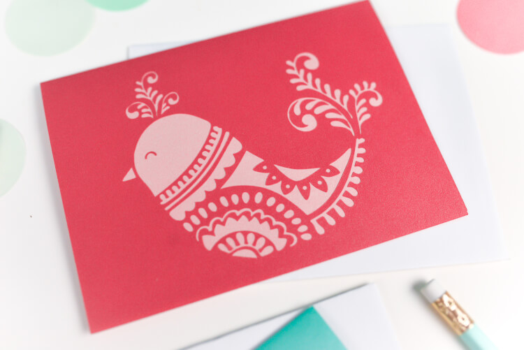 Download Bird Cards - SVG Download for the Cricut or Silhouette