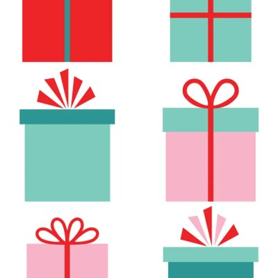 Christmas Gifts Clip Art – Freebie Friday