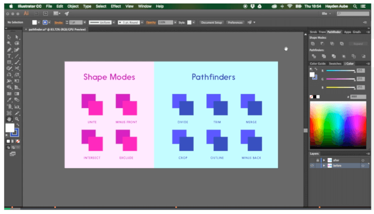 Skillshare: Give the Pen Tool a Day Off | Hayden Aube