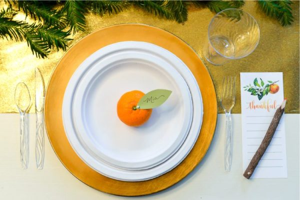 Thanksgiving Table Decor - How to Shop Your Yard - Hey ...