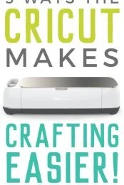 Learn how a Cricut machine will help make all of your crafting so much easier!
