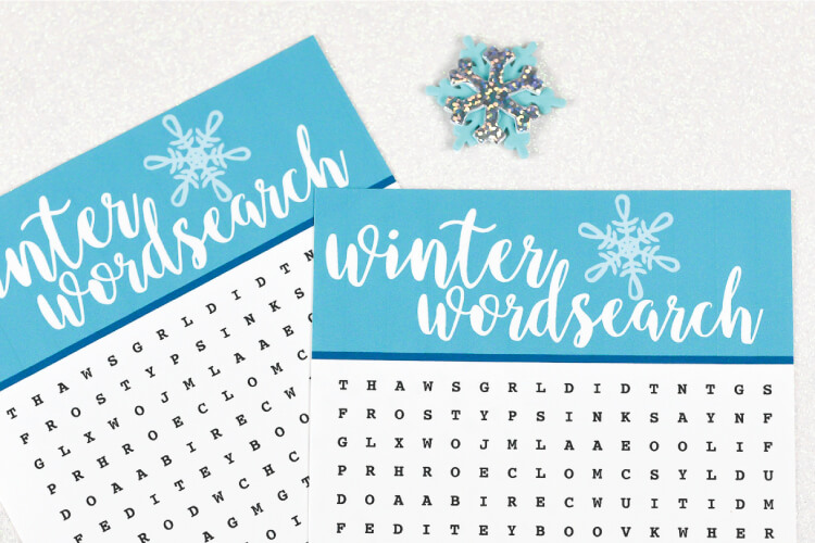 photo relating to Winter Word Search Printable named Wintertime Printable Term Appear - Hey, Makes it possible for Generate Things
