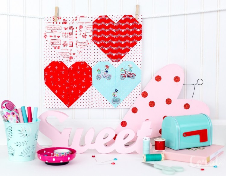 Valentines Day Quilt pattern
