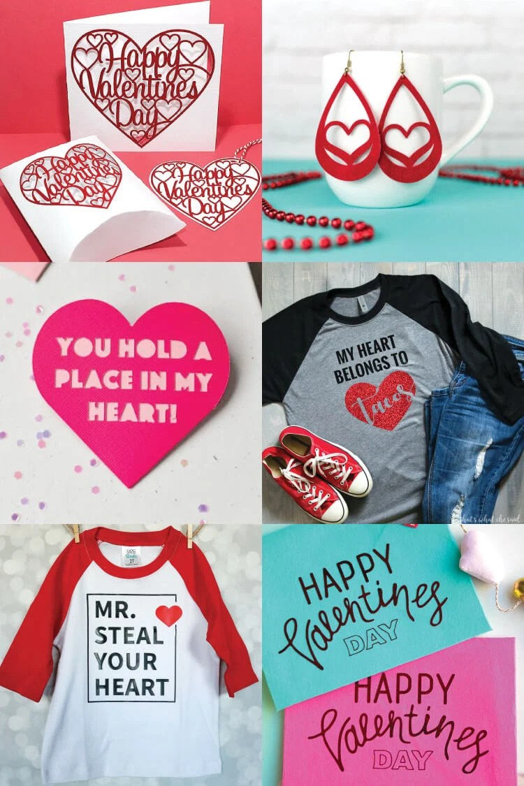 Get ready for Valentine's Day with these sweet Valentine's Day projects using the Cricut or other cutting machine! So many free SVG files for Valentine's Day to help you celebrate the day of love!