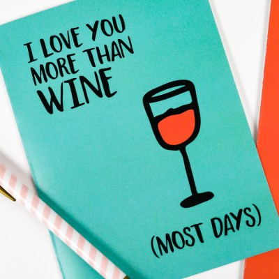 Honest Printable Valentines