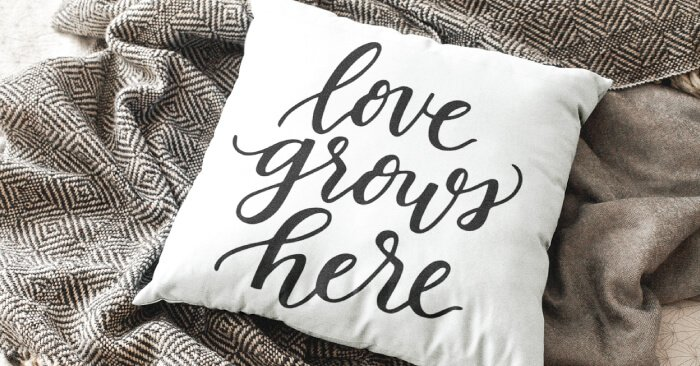 Download Love Grows Here SVG - Hey, Let's Make Stuff