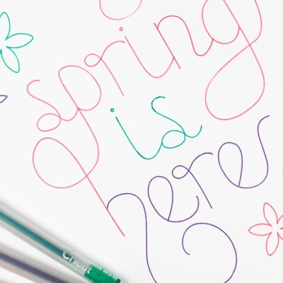 Draw in Multiple Colors with the Cricut
