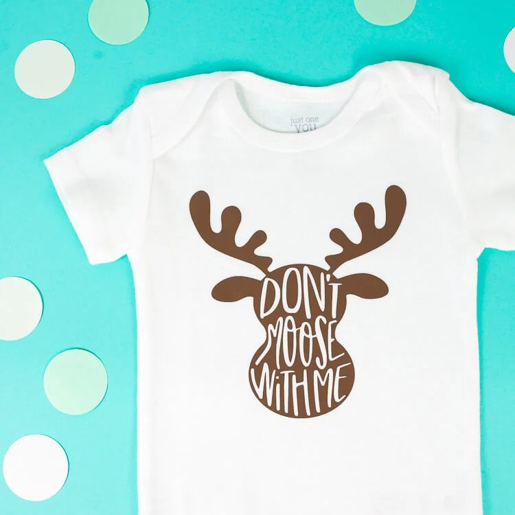DIY Baby Onesies with the Cricut - Hey, Let's Make Stuff