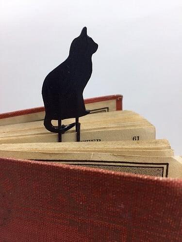 Black Cat Bookmarks