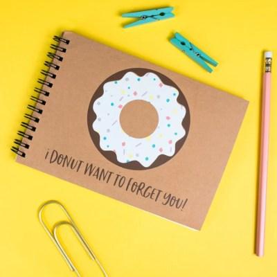 Donut School Autograph Book