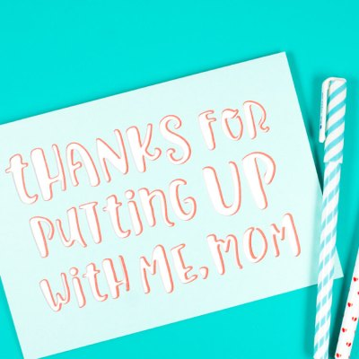 Snarky Mother's Day Card
