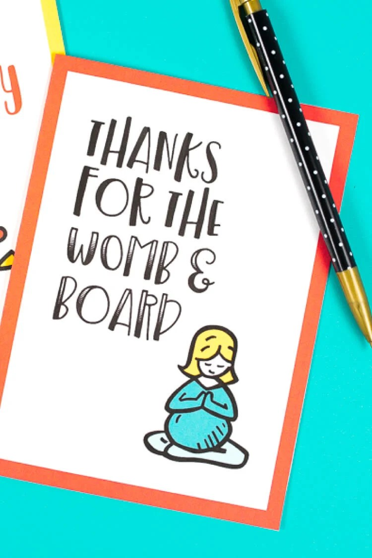 graphic about Funny Printable Mothers Day Cards called Printable Amusing Moms Working day Playing cards 8 Hilarious
