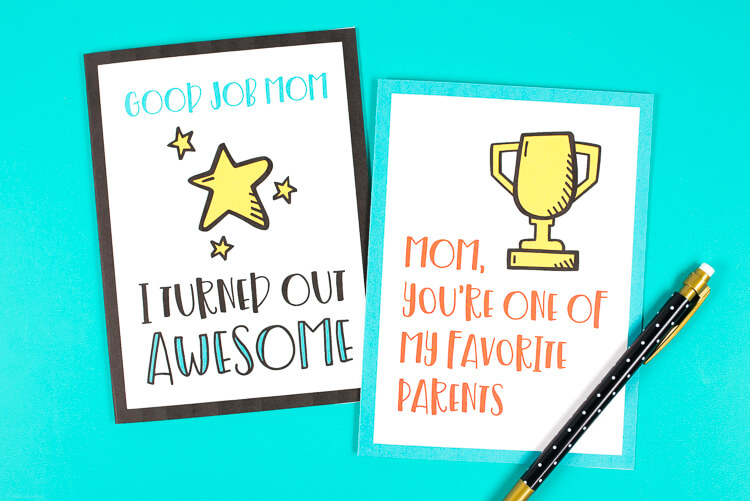 Mom not into flowers or chocolate? Say what you're really thinking with these honest and funny Mother's Day cards! These printable Mother's Day cards will make your mom laugh out loud—and isn't that the best gift of all?