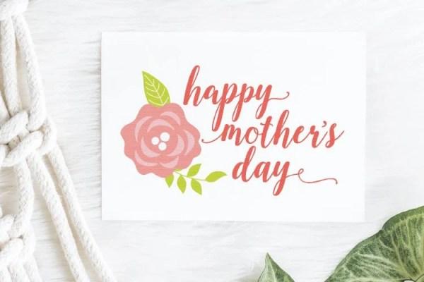 Happy Mother's Day SVG Bundle - Hey, Let's Make Stuff