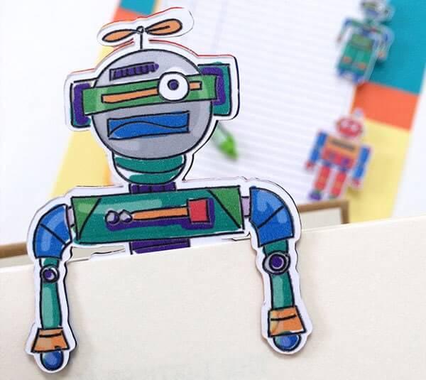 Robot Bookmarks