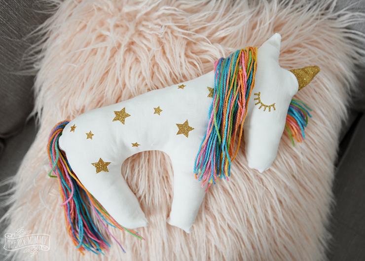 Unicorn Plush Pillow