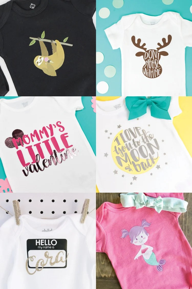 84f45e4c7 DIY Baby Onesies with the Cricut - Hey, Let's Make Stuff