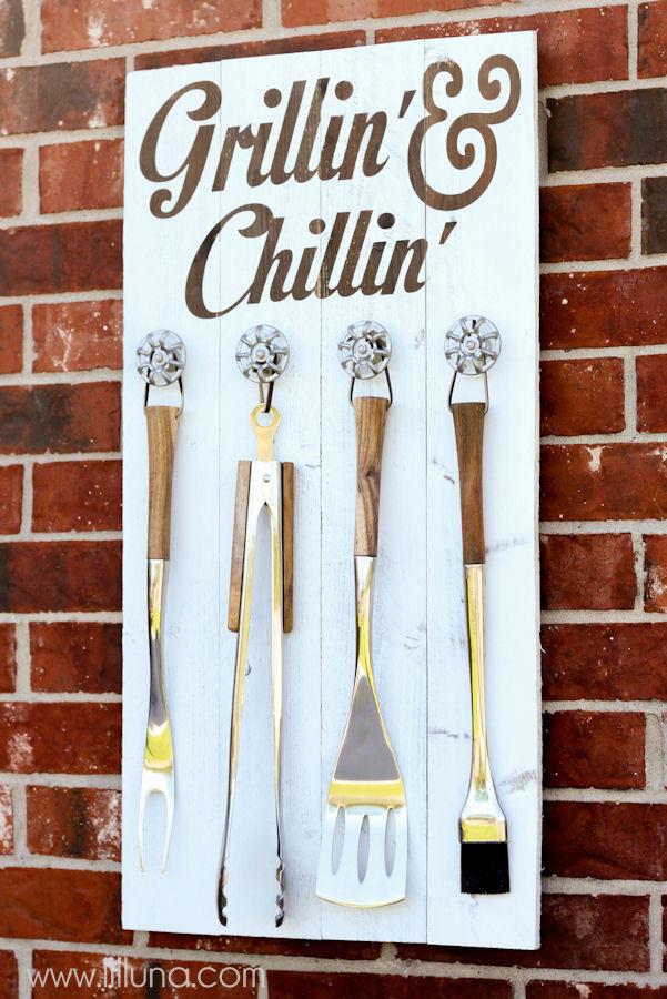 Grillin Board - Lil Luna