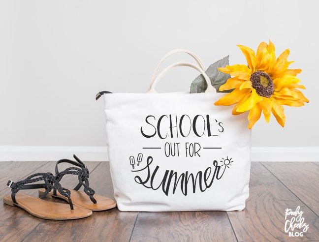 Schools Out for Summer Tote