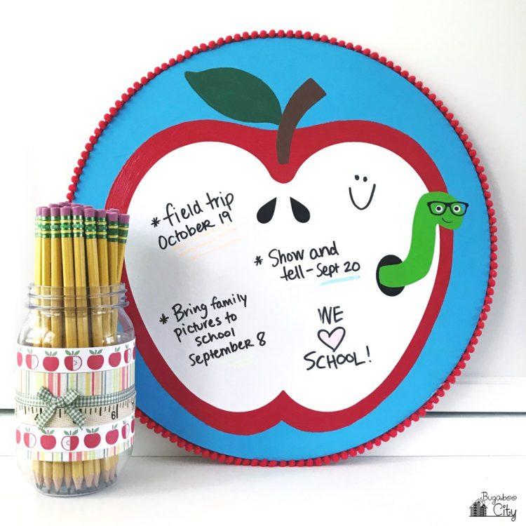 Apple Dry Erase Board