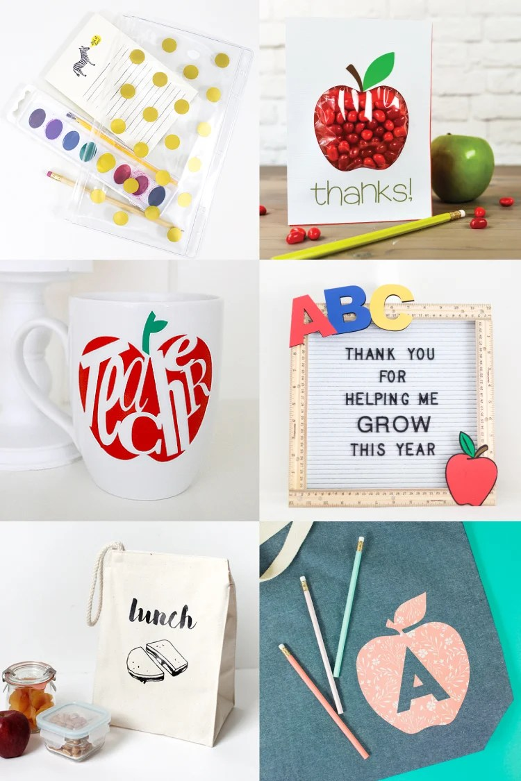Back To School Crafts With The Cricut For Students Teachers