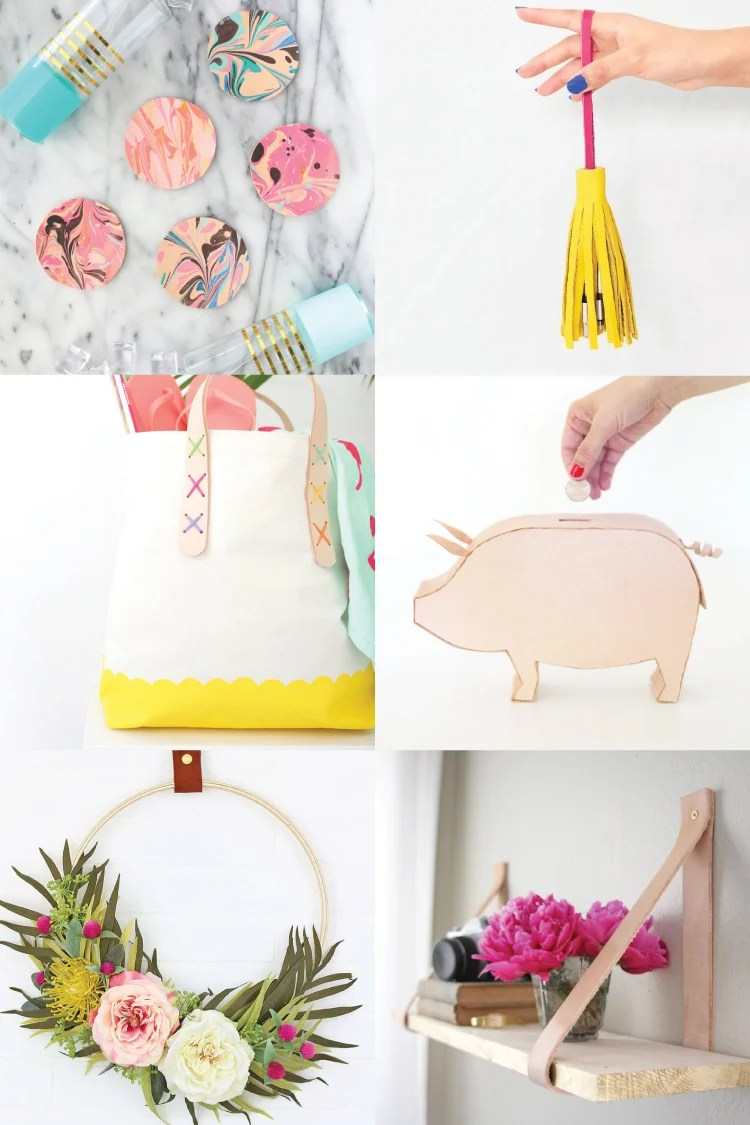 Diy Leather Projects Crafts Home Decor Fashion