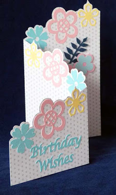 Tri Fold Birthday Card