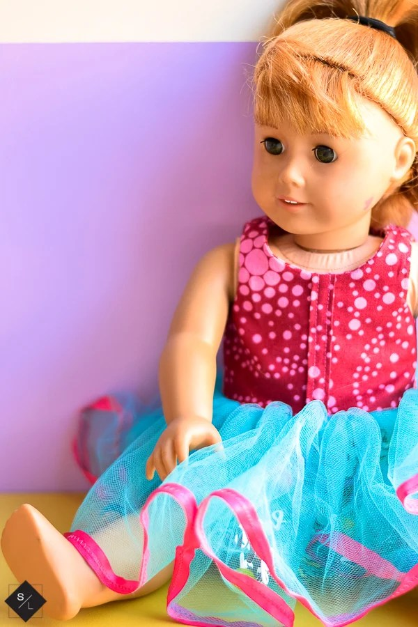 American Girl Party Dress with the Cricut