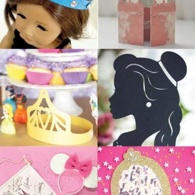 Princess Party Ideas: SVG Cut Files + Cricut Projects