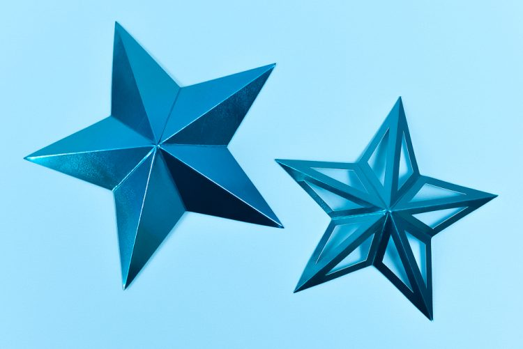 Two Finished Stars