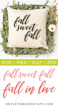 It's fall y'all! These hand lettered fall SVGs are the perfect way to celebrate pumpkins, leaves, cooler weather and all things FALL!