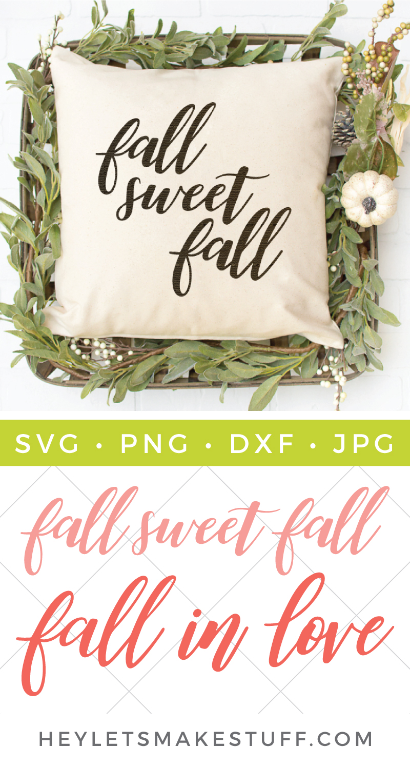It's fall y'all! These hand lettered fall SVGs are the perfect way to celebrate pumpkins, leaves, cooler weather and all things FALL! via @heyletsmakestuf
