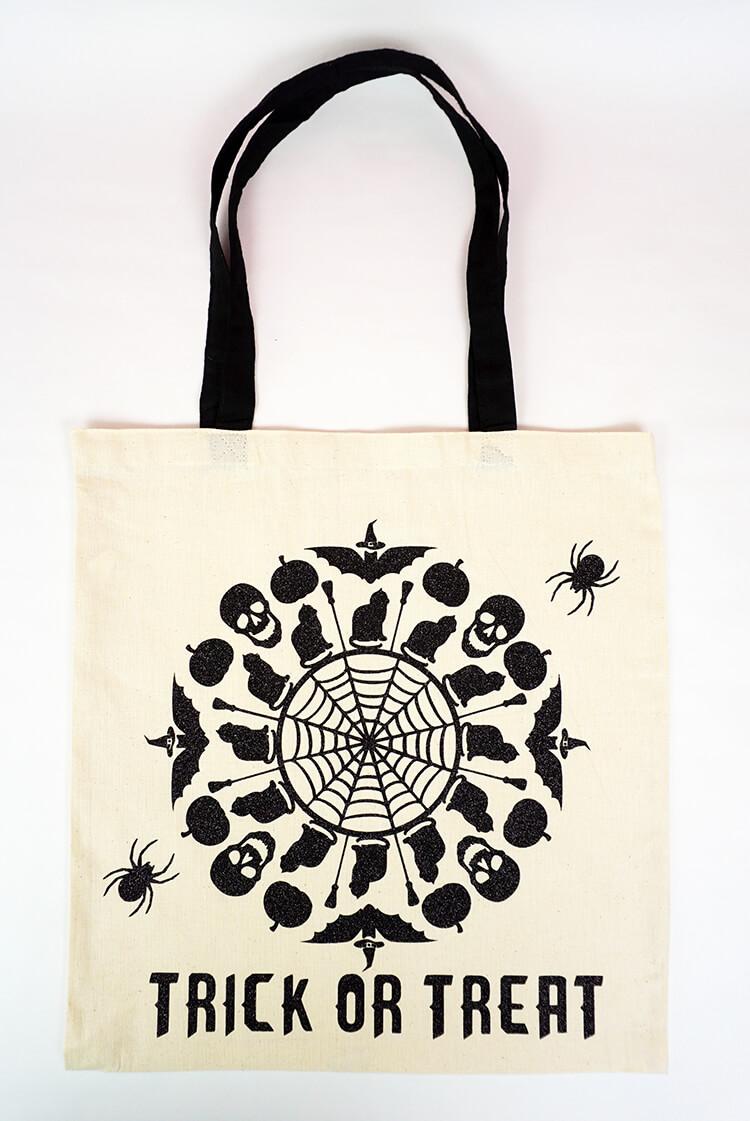 Mandala Trick or Treat Bag