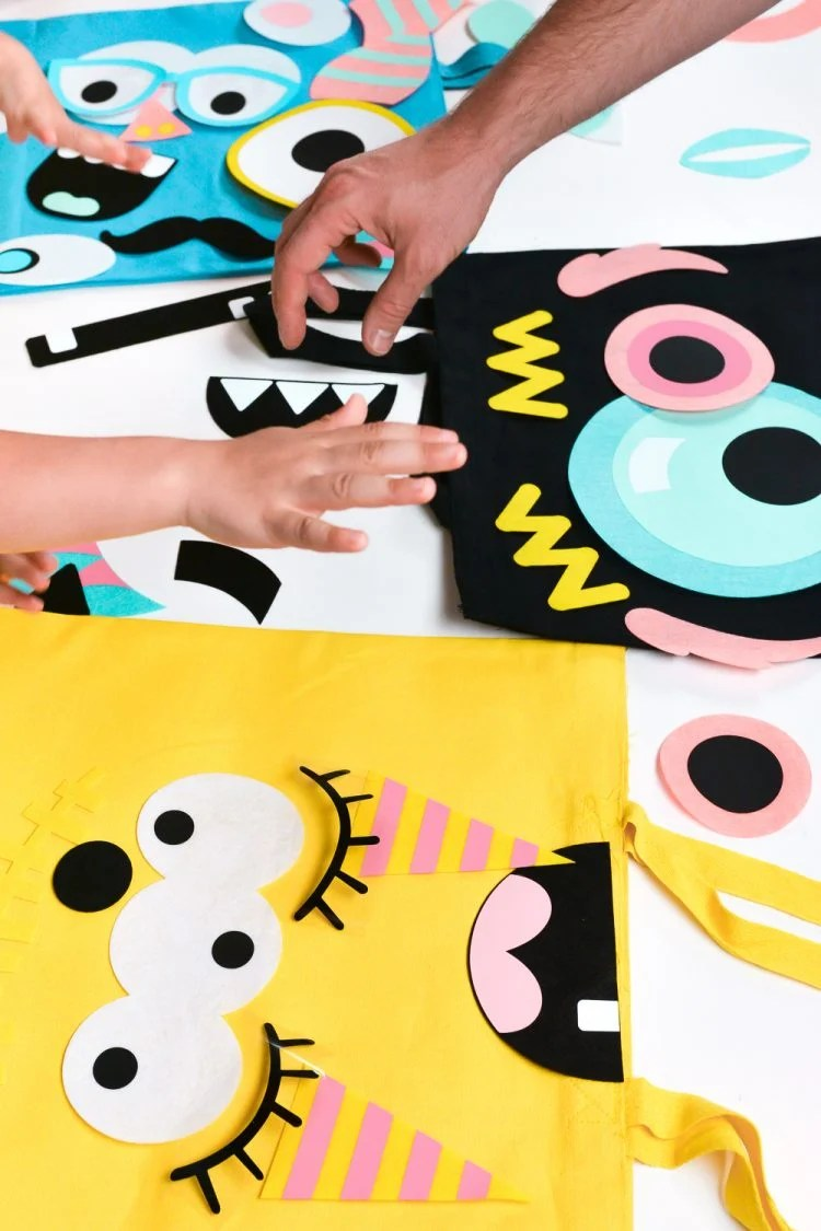 More Kids Hands Over Shapes