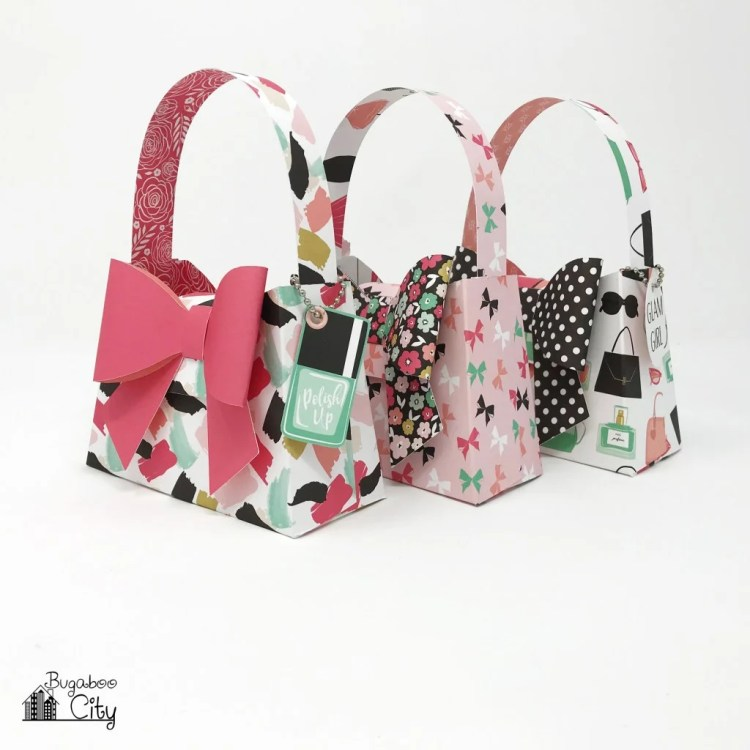 DIY Paper Purses – with the Fashionista Paper Collection