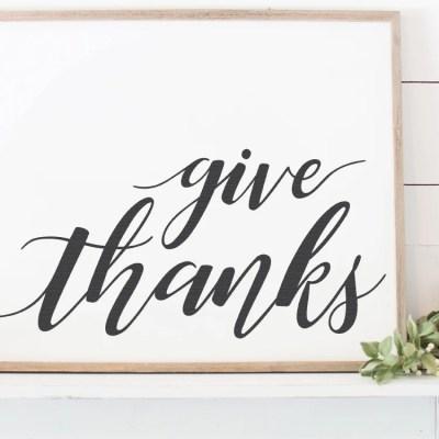 Thankful + Blessed SVG Bundle