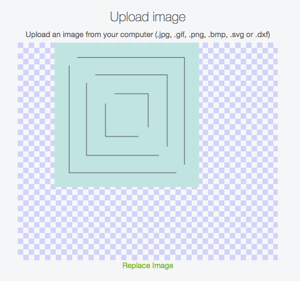 Upload Snowflake to Cricut Design Space