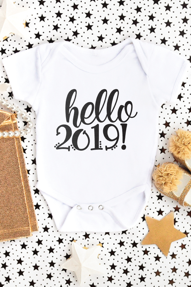 2019 is here whether you are ready for it or not! Ring in the new year in style with this New Year's Eve SVG Bundle! Let the excitement of 2019 adorn every shirt, baby onesie, party invite and so much more!