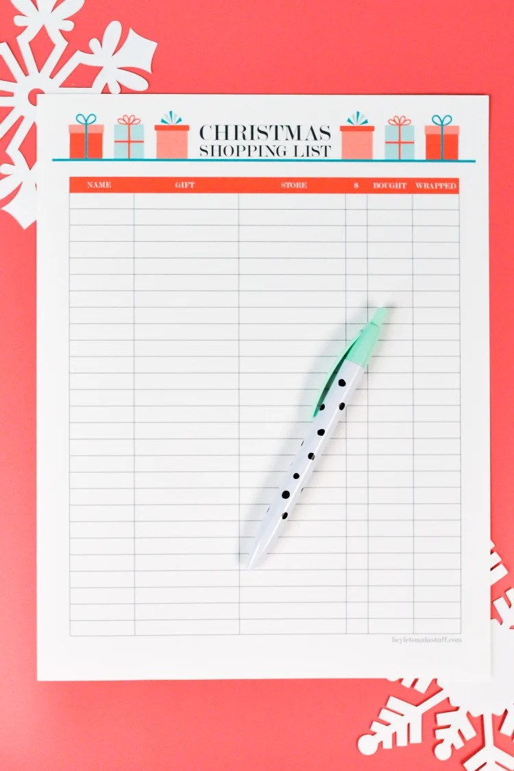 Need an easy way to track your gift-buying this year? This printable Christmas list has everything you need to keep yourself organized and on budget for the holidays. It also includes a thank you note tracker—an easy way to know who gets a thank you card after Christmas!
