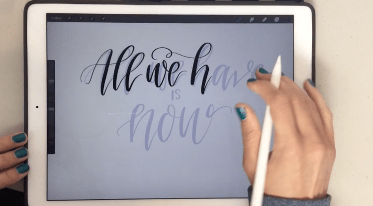 iPad Lettering: The Ultimate Guide