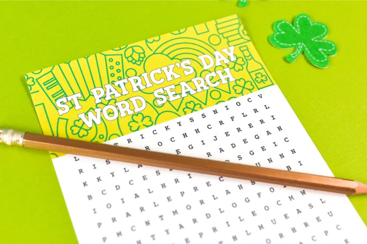 Celebrate the luckiest day of the year with this fun printable St. Patrick's Day word search! Find all sorts of St Patrick's Day-related words—it's perfect for kids, adults, teachers and students!