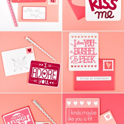 DIY Valentine's Day Idea: Love Letters with the Cricut