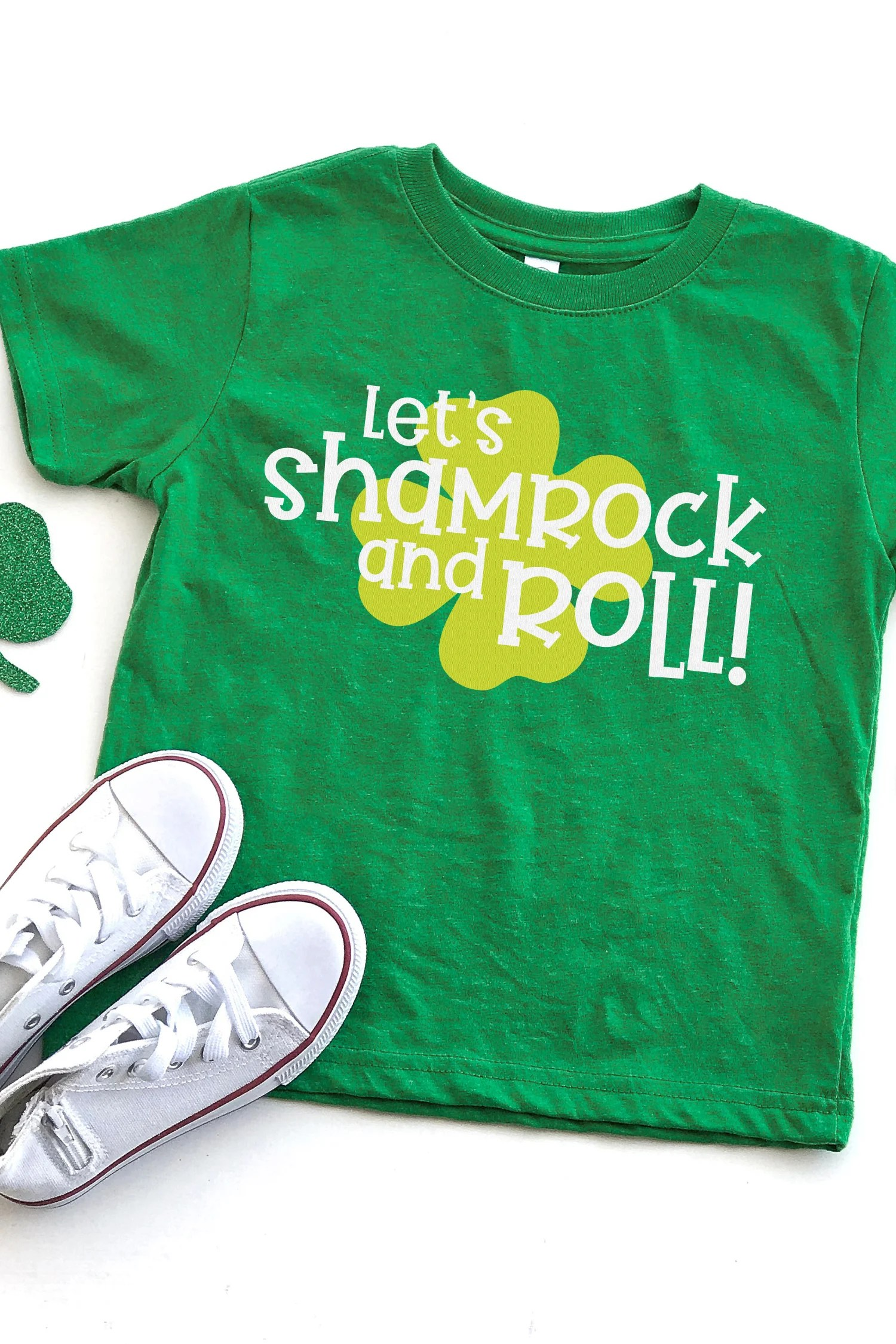 Shamrocks, leprechauns, pots of gold and rainbows - it's almost like St. Patrick's Day was made for kids. Use this Kids St. Patrick's Day SVG Bundle to add some luck of the Irish embellishment to t-shirts, onesies, greeting cards, treat bags and so much more!