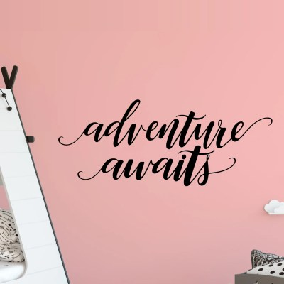 Hand-Lettered Adventure Awaits SVG – Flash Freebie