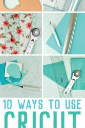 I use Cricut's hand tools—the rotary cutter, True Control Knife, acrylic ruler, cutting ruler, and self-healing mat—every day in my craft room. But if you've never used tools like these before, you might be wondering how useful they really are. So here are ten ways I use Cricut hand tools in my own crafting!