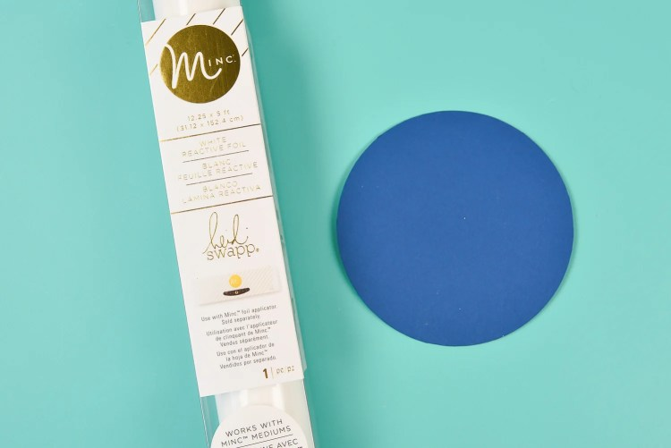 The Heidi Swapp Minc Foil does not work with the Foil Quill.