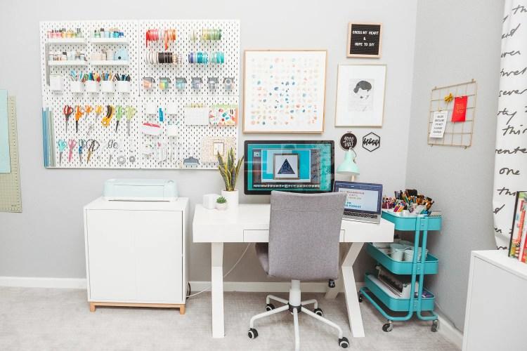 Craft Room Organization Ideas Craft Room Reveal