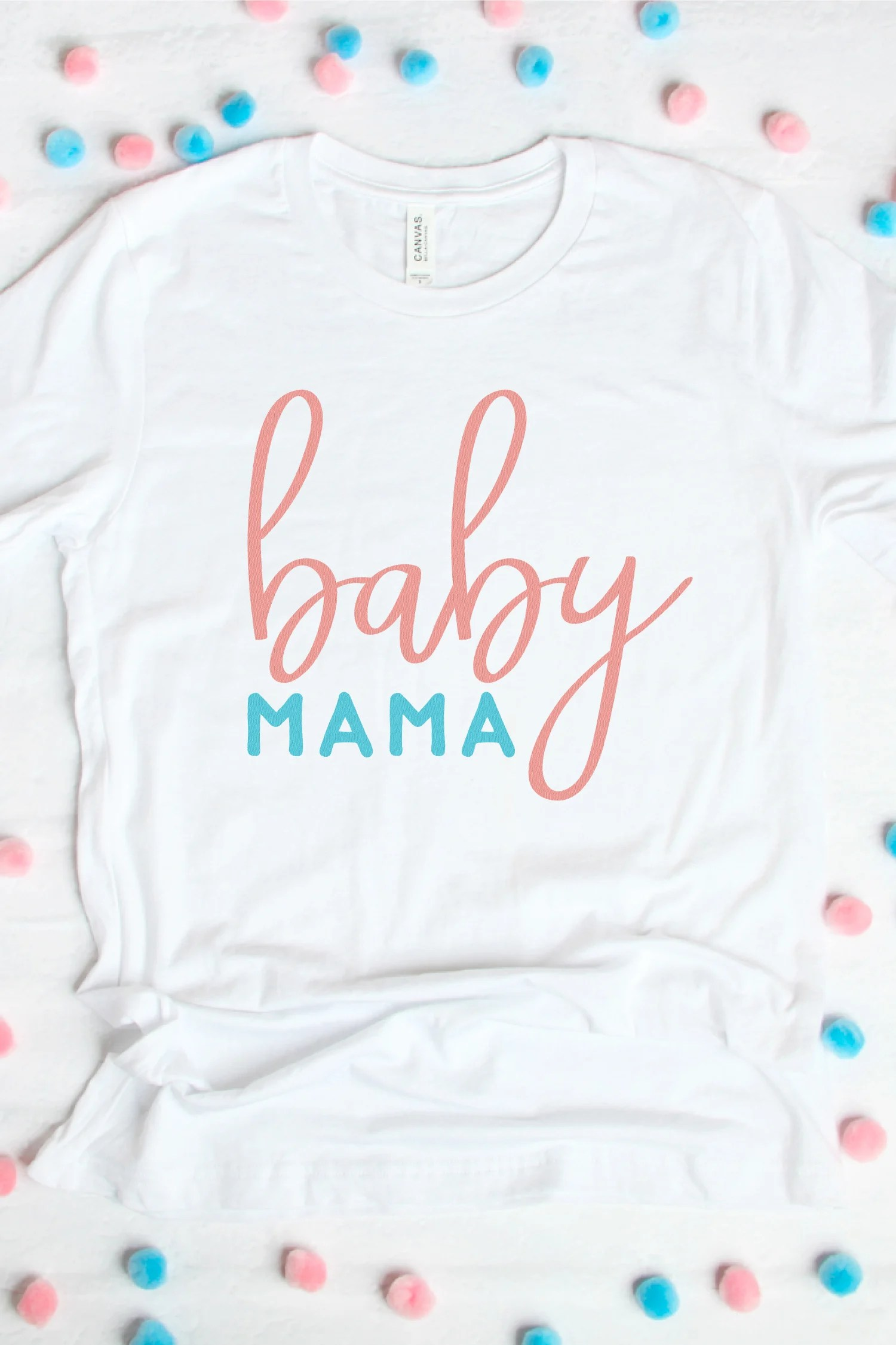 Are you sporting that baby bump? Or know someone who is? Announce it and wear it proud with this adorably sweet Flash Freebie Pregnancy SVG File Bundle
