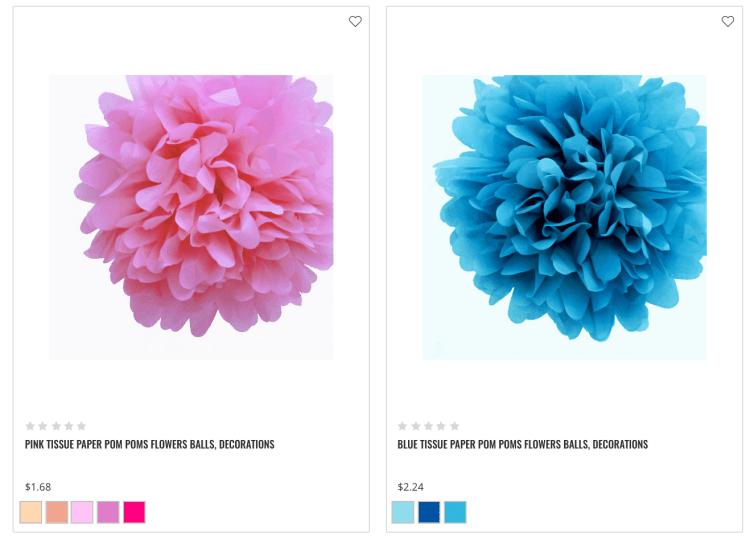 Tissue Paper Flowers from Luna's Bazaar