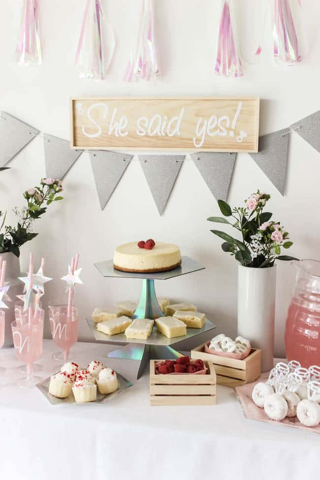 Diy Bridal Shower Ideas With The Cricut Hey Let S Make Stuff